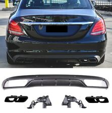 Für Mercedes Benz C-Klasse W205 S205 Limousine T-modell C63 Amg Look Diffusor