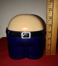 Novelty Plastic Fanny Butt Coin Bank Makes Farting Noise Gag Gift Working