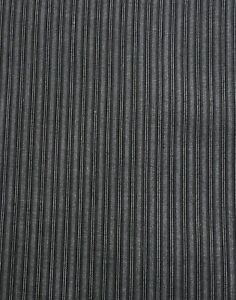 Suiting Weight Sewing Fabric Viscose? Grey Black Stripes 140 x 110cm Remnant