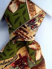 Men's Hugo Boss Green Silk Tie Made in Italy A25480