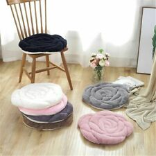 Round Rose Floor Cushions Pouf Tatami Throw Pillow Plush Seat Pad Home Decors