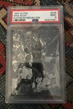 1997-98 Ultra Platinum Medallion Basketball Card #22 Dale Ellis 66/100 PSA 9