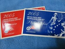 2005 US Mint Set with State Quarters