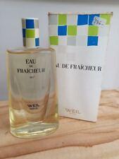 Vintage Weil ... eau de fraîcheur / 8 fl oz