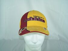 Reebok NFL Pro Line WASHINGTON REDSKINS Maroon Gold cap Hat