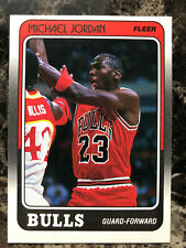 1988 Fleer #17 MICHAEL JORDAN Bulls Original **** One Corner Ding ****