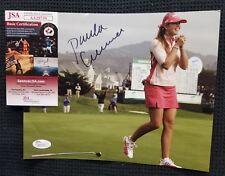 PAULA CREAMER Signed Autographed LPGA GOLF 8x10 Photo. JSA