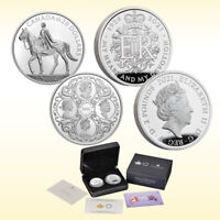 Her Majesty Queen Elizabeth II 95th Birthday Celebration Two-Coin Set