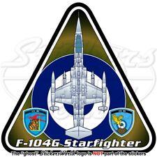 F-104 STARFIGHTER GRECIA Lockheed F-104G Hellenic Forza Aerea Greek Adesivo
