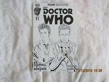Doctor Who Four Doctors part 1 Variant B/W BAM exclusive