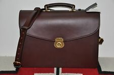 Brooks Brothers Peal & Co Swaine Adeney Brigg Leather Briefcase Laptop Bag