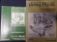 Metzler Physik Gymnasium SII Buch + Lösungsheft gut für AbivorbereitungNachhilfe