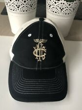 Vintage YARRA YARRA golf Club Victoria Hat Cap Black White Colour Adjustable