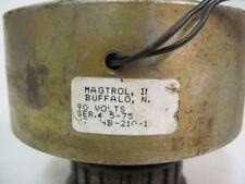 Magtrol Hb 210 1 Motor Brakeclutch 90 Volt 12 Shaft