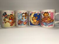 Details about Collectible Jim Davis Garfield Coffee Mug Cup 'No Respect for Late Risers
