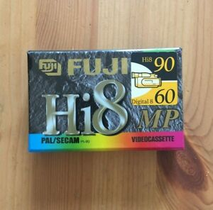 FUJI HI8 90 minutes video cassette SEALED