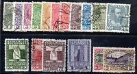 JL Austria Stamp # 110-126 USED!!!! A62