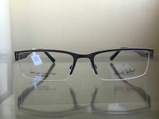 bagsclothesetc: NEW ROBERTO STEFFANI RS97 Men's Gunmetal Eyeglass Frames