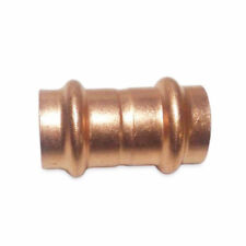 "1/2"" Coupling W/ No Stop Press x Press (BAG OF 10) - COPPER PIPE FITTING"