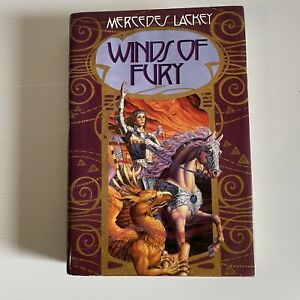 Winds of Fury Mage Winds Trilogy Book 3  Mercedes Lackey Hardcover US 1st Ed