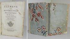 SAGE: ELEMENS DE MINERALOGIE DOCIMASTIQUE - 1777