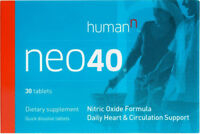 Humann Neo40 Nitric Oxide Daily Heart & Circulation Support Formula (30 Tablets)