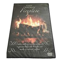 Cozy Cracklin Fireplace (DVD, 2006) ~New~ Sealed ~ Fast Ship Daily
