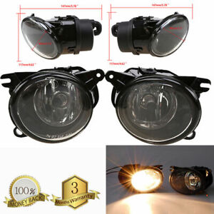 Front Fog Light Lamp Driving Bumper For Audi A6 C5 quattro W/Bulb 2002-2005 2004