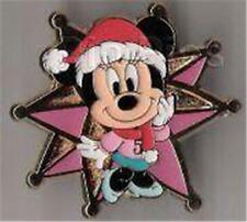 Minnie In Santa Hat Tokyo Disney Sea 5Th Anniversary Game Prize Gift Disney Pin