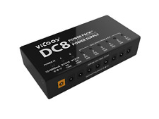 NEW Vitoos DC-8 Pedal Power Supply (PSU) 8 output w/ 3 isolated output sections