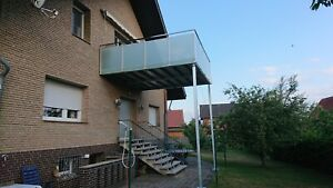 Anbaubalkon Stahlbalkon Anstellbalkon Balkon Terrasse Balkone Geländer 3 x 3 m