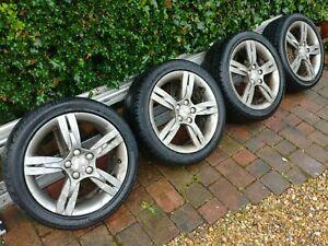Seat Ibiza FR alloy wheels. Genuine RONAL 5x100 (Audi,Skoda, VW fit). Set of 4.