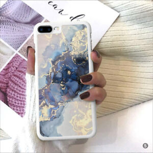 Marble Phone Case Cover For iPhone Samsung Huawei OnePlus Sony Xperia ETC 109-5