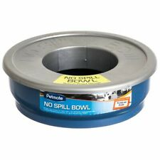 LM Petmate No-Spill Travel Bowl - Blue 48 oz