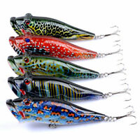 Eg /_ Am /_ LC/_ Réaliste 8cm Pêche Leurre Appâts Poissons Nageurs Sharp Crochet