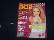 2001 MAY BOP MAGAZINE - MANDY MOORE COVER - B 27