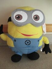 """NWT, HTF 15"""" DESPICABLE ME Minion """"Dave"""", The Toy Factory, Stuffed Plush, Large!"""