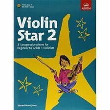 Violin Star 2 Student's Book With CD by Edward Huws Jones 9781860969003