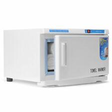 16L Massage Spa Facial Hot Towel Warmer Heater UV Light Sterilization Cabinet