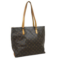 LOUIS VUITTON CABAS MEZZO HAND TOTE BAG PURSE MONOGRAM DU0033 M51151 33433
