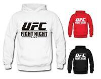 Kaputzenpullover Sport Hoodie Herren UFC MMA Fleece Sweatshirt Training Anzug