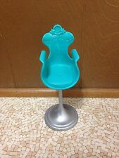 Barbie Doll House Furniture Green Beauty Hair Salon Parlor Pedestal Chair