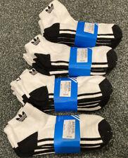 NWT Adidas Men's White Low cut socks sz 6-12 4 Sets Of 3 Pair