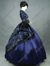 Renaissance Victorian Masquerade Prom Dress Ball Gown Steampunk Clothing 143 L