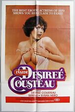 INSIDE DESIREE COUSTEAU Original Movie One Sheet, VERY GOOD, 1979