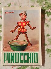 PINOCCHIO ED. ALBUM DELL'ARTE 1968 BELLISSIMO !