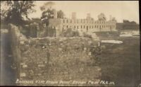 Crown Point NY Barracks Fort c1910 Real Photo Postcard