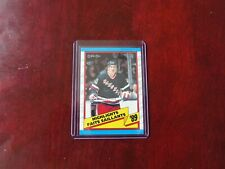 1989-90 O-PEE-CHEE BRIAN LEETCH HIGHLIGHTS ROOKIE RECORD #326.