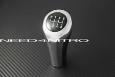 6 Speed Chrome Gear Shift Knob For BMW Manual Transmission E46 E90 E92 E87 Z4 X5