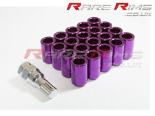 Purple Tuner Wheel Nuts x 20 12x1.25 Fits Nissan 200sx S12 S13 S14 S15 Sylvia